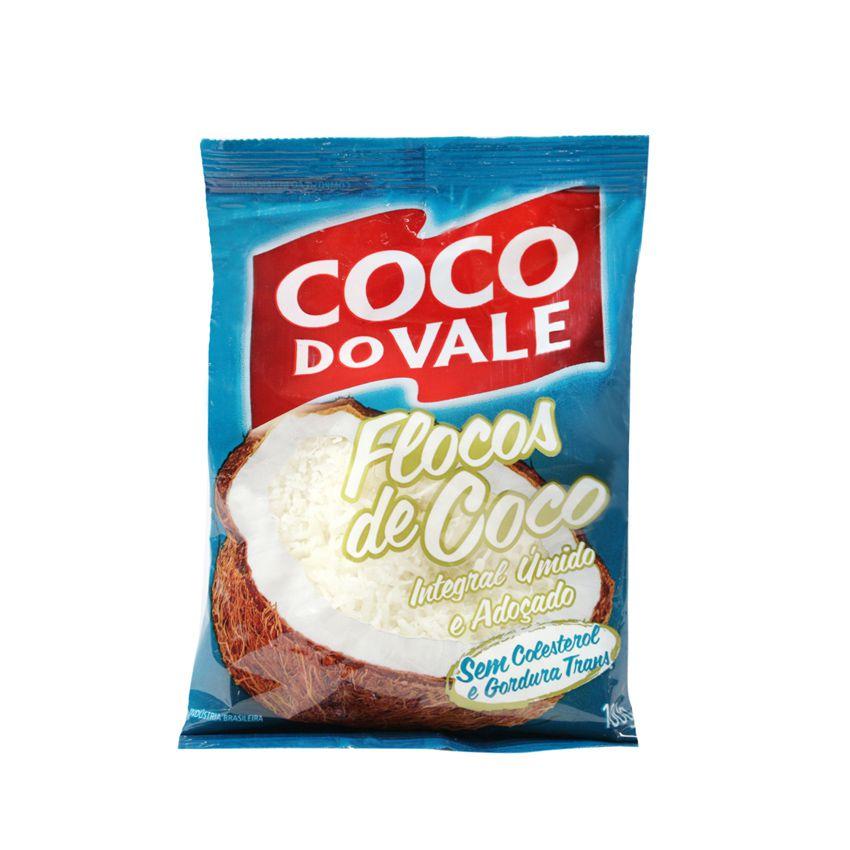 Coco Ralado em Flocos Dovale 100g