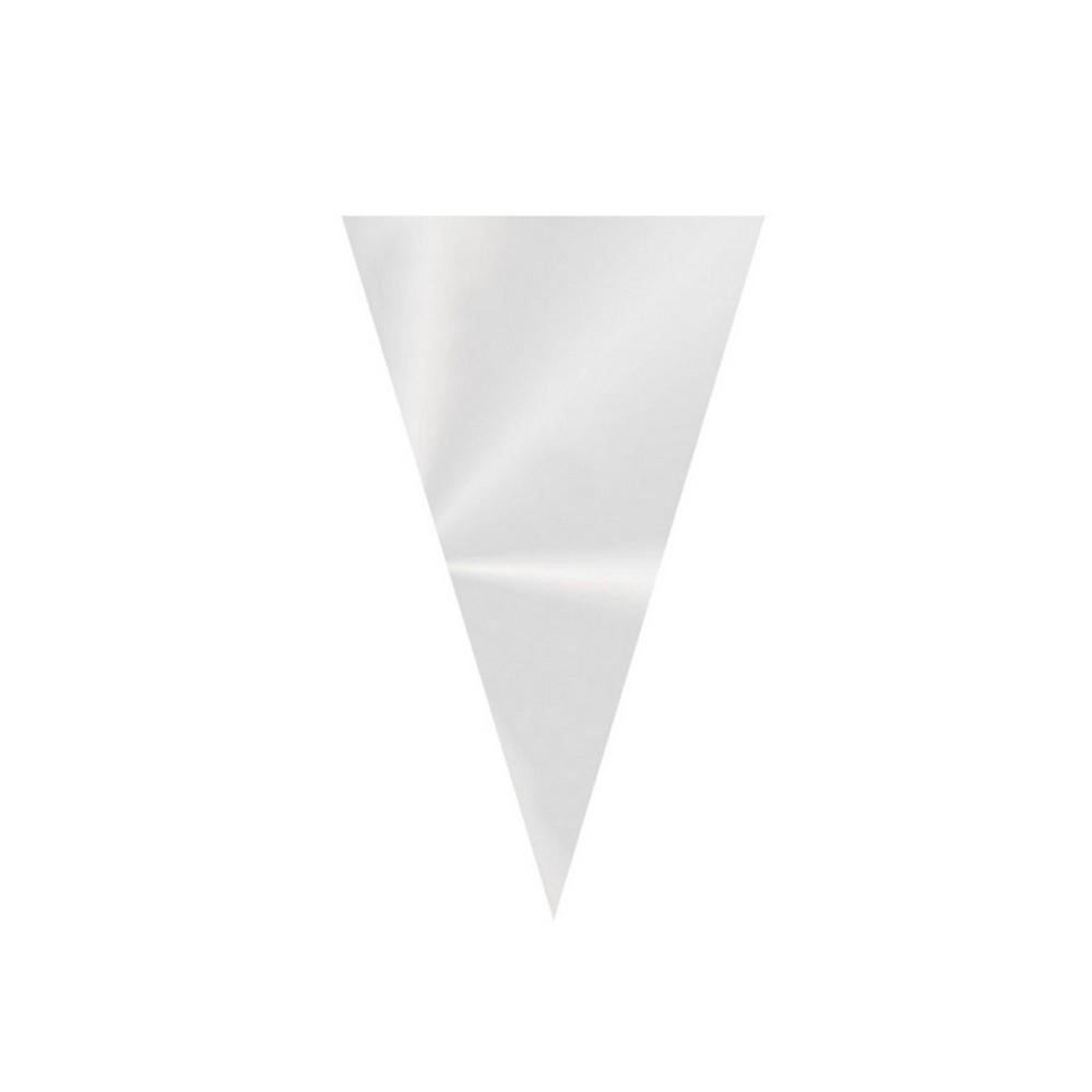 Cone Festa 18cmx 30cm Incolor c/50 unid Cromus