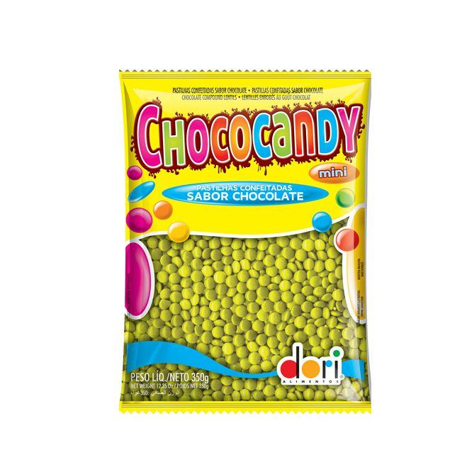 Confeito Chococandy Mini Amarelo 350g Dori