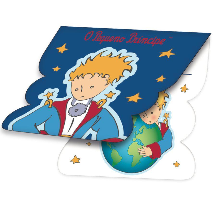 Convite O Pequeno Príncipe C 08 unid Festcolor