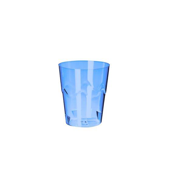 Copinho Brigadeiro Azul Neon 25 ml 10 unid Strawplast