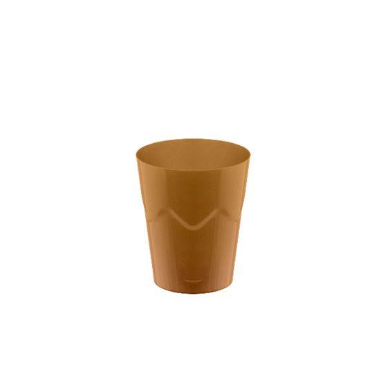 Copinho Brigadeiro Dourado 25 ml 10 unid Strawplast