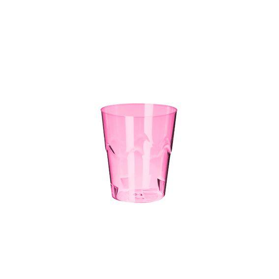 Copinho Brigadeiro Rosa Neon 25 ml 10 unid Strawplast