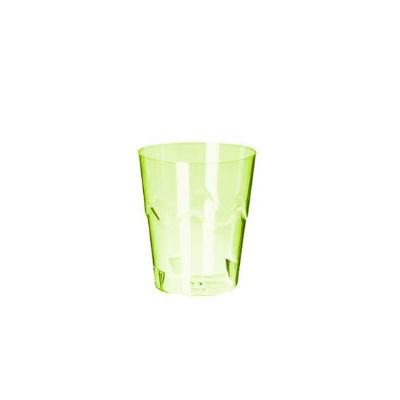 Copinho Brigadeiro Verde Neon 25 ml 10 unid Strawplast