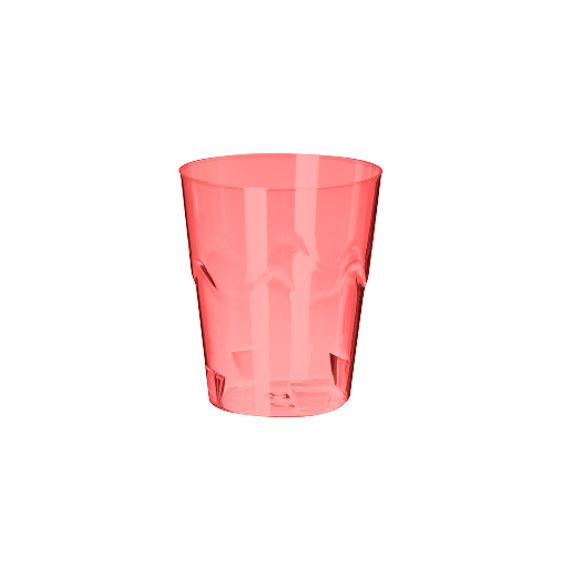 Copinho Brigadeiro Vermelho Neon 50 ml 10 unid Strawplast