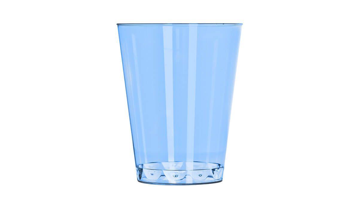 Copo 200ml 10 unid Azul Strawplast