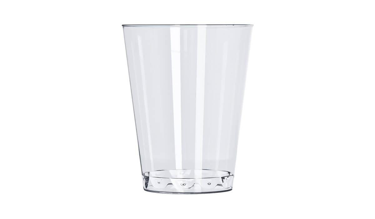 Copo 200ml 10 unid Cristal Strawplast