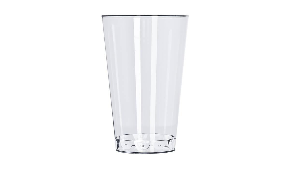 Copo 300ml 10 unid Cristal Strawplast