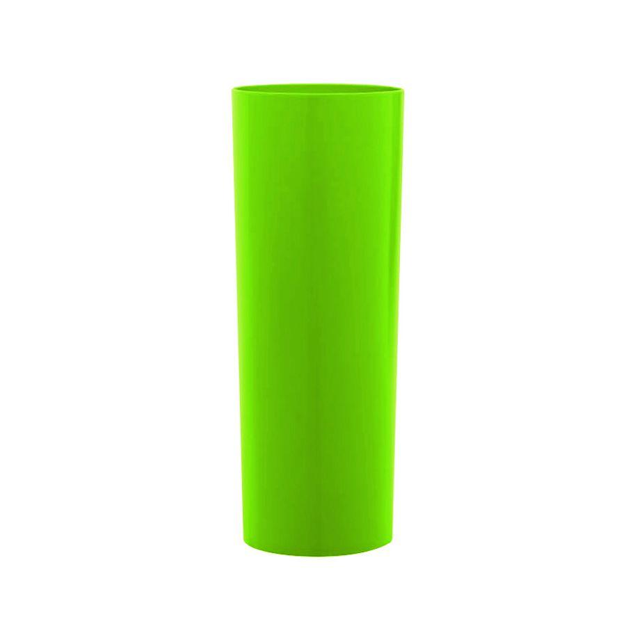 Copo 350ml Long Drink Verde Limão Leitoso