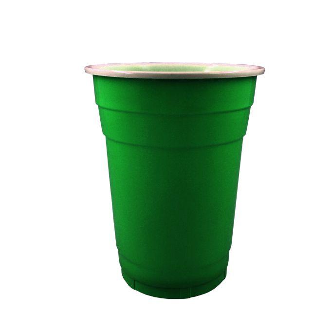 Copo Americano 500ml 20 unid Verde Popper