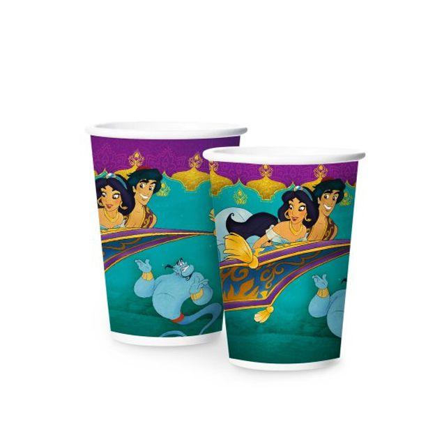 Copo de Papel Aladdin 180ml C 08 unid Regina