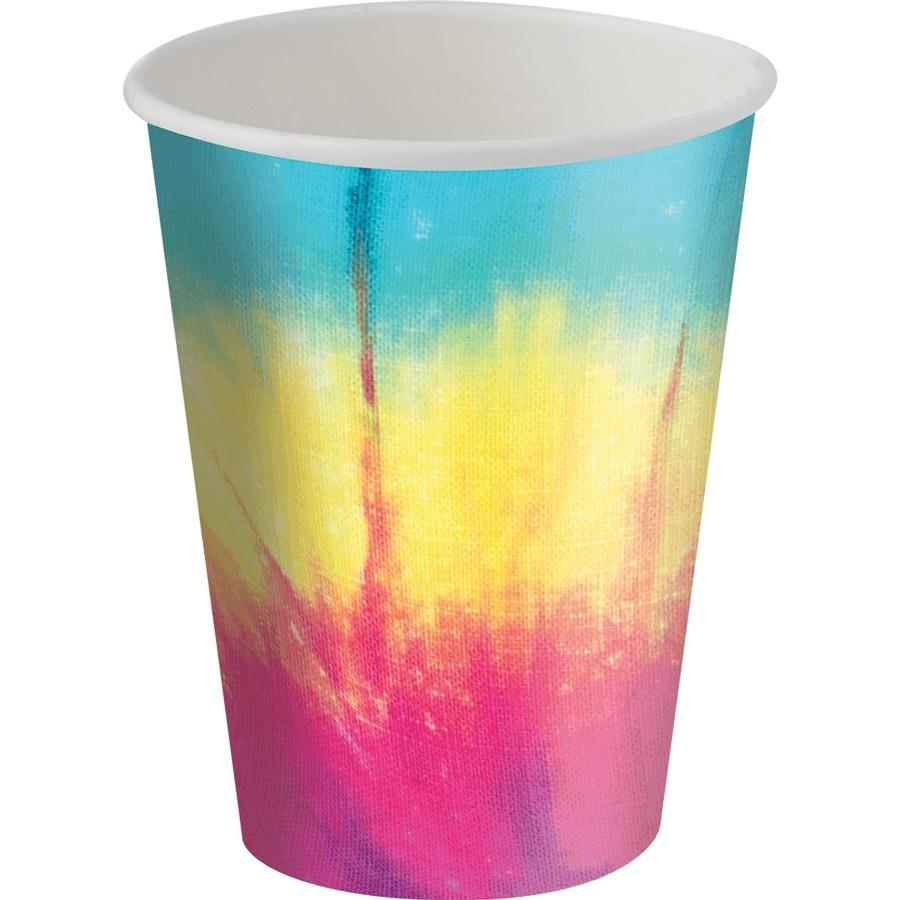 Copo de Papel  Tie Dye C 08 unid Festcolor