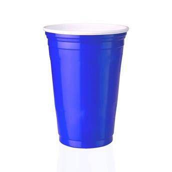 Copo Festa 300ml 25 unid Azul Copobras