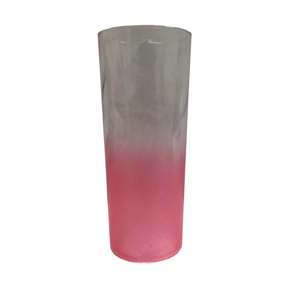 Copo Long Drink Degradê 350ml Rose Gold