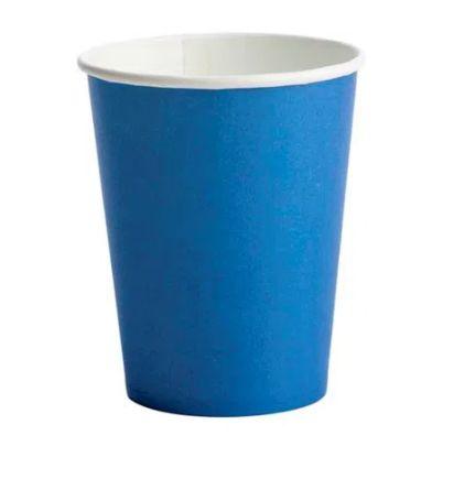 Copo Papel 270ml 10 unid Azul