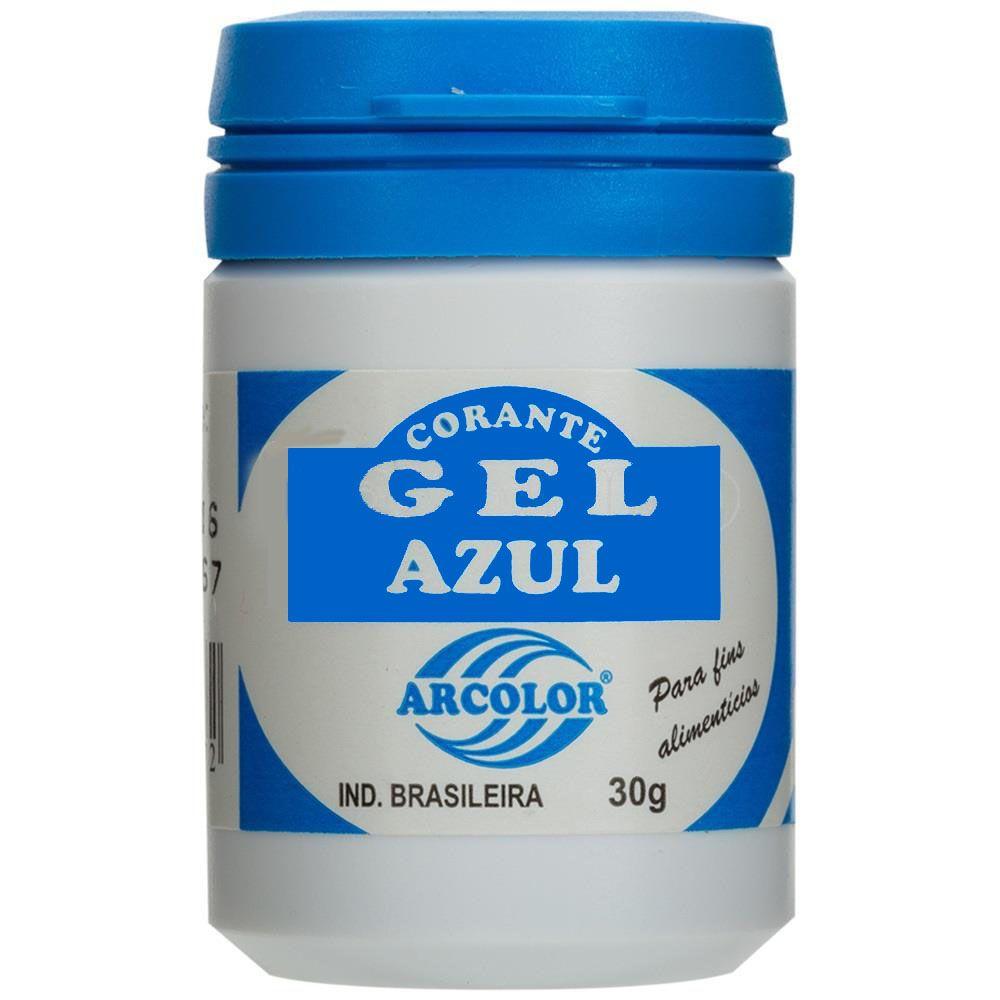 Corante Gel Azul 30g Arcolor
