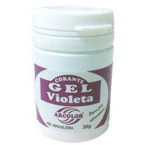 Corante Gel Violeta 30g Arcolor