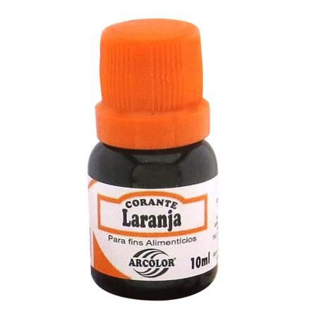 Corante Líquido Laranja 10 ml Arcolor
