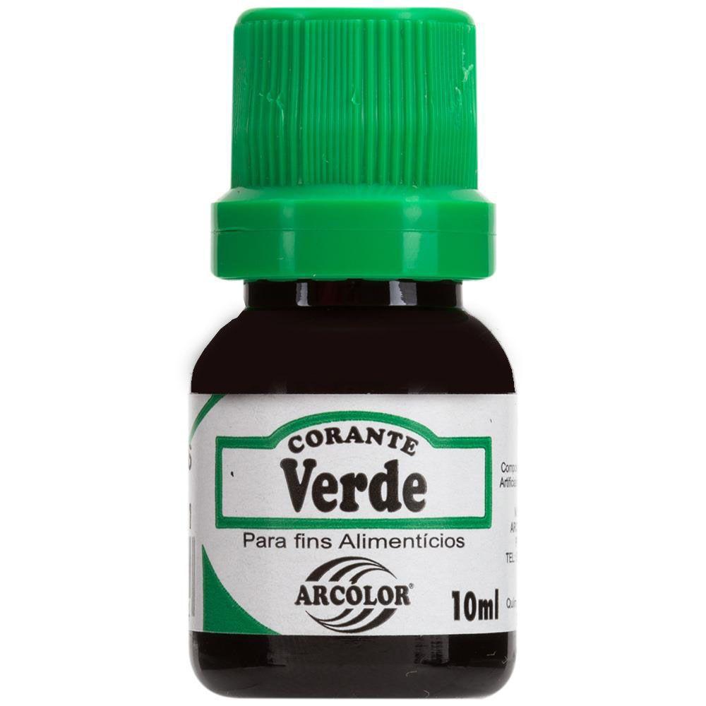 Corante Líquido Verde10 ml Arcolor
