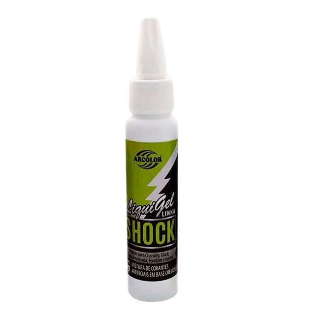 Corante Liquigel Verde Shock Arcolor 30g