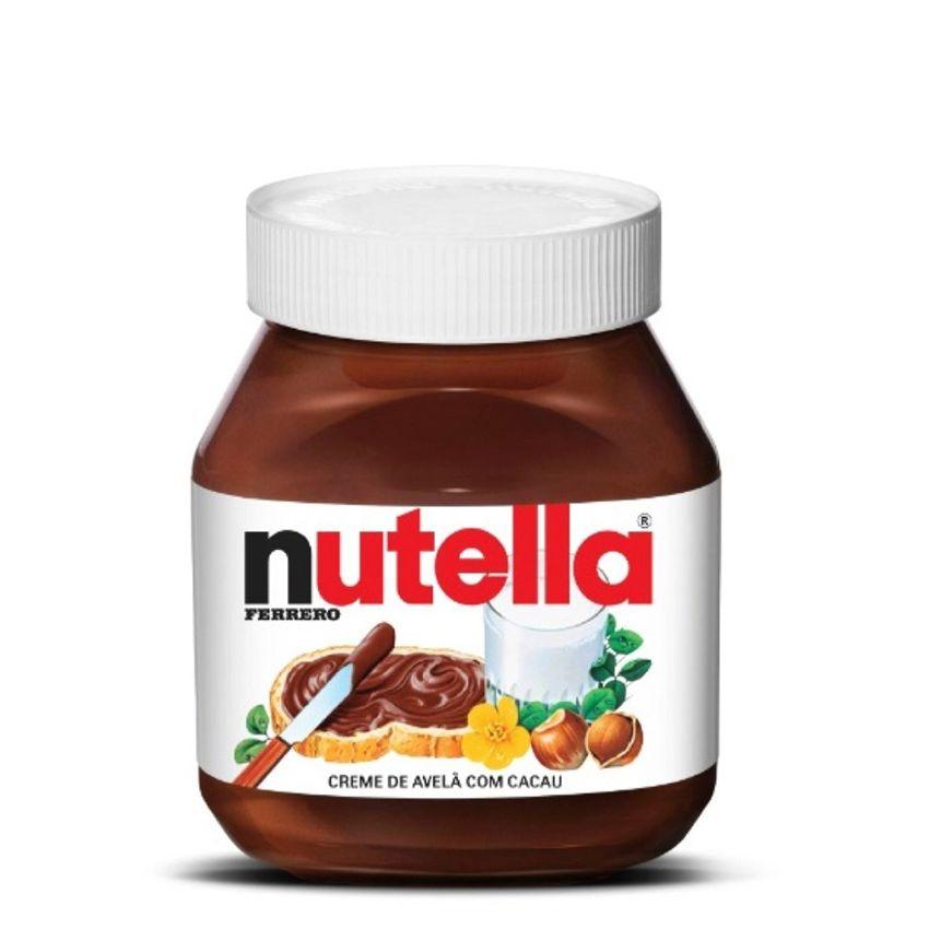 Creme Avelã Nutella 650g