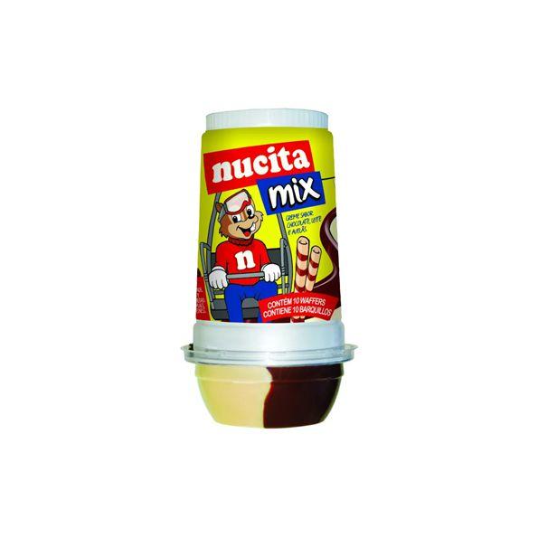 Creme Nucita Mix 17g de Waffers e 45g de Creme