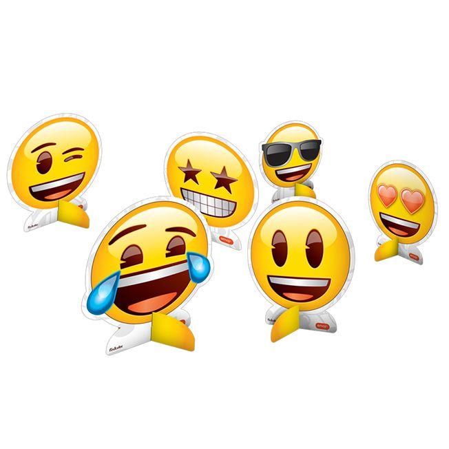 Decoração de Mesa Emoji C 08 Festcolor