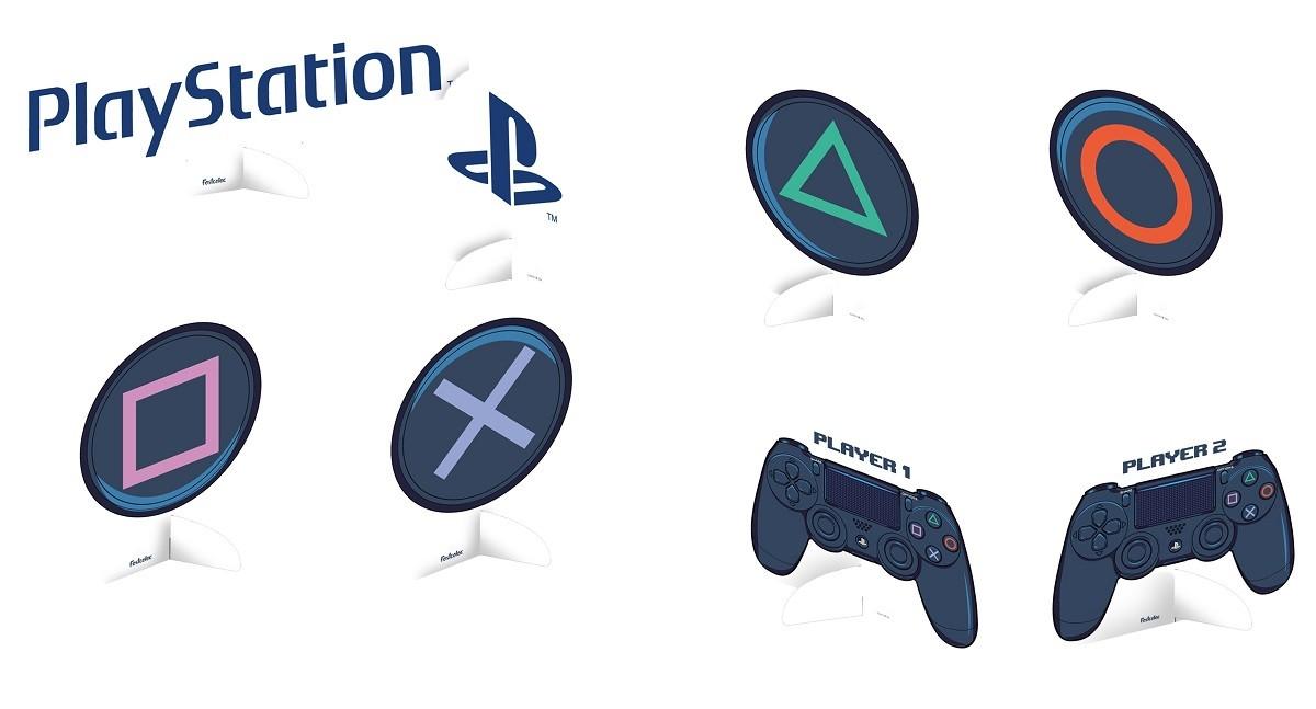 Decoração de Mesa PlayStation c/8 unid Festcolor