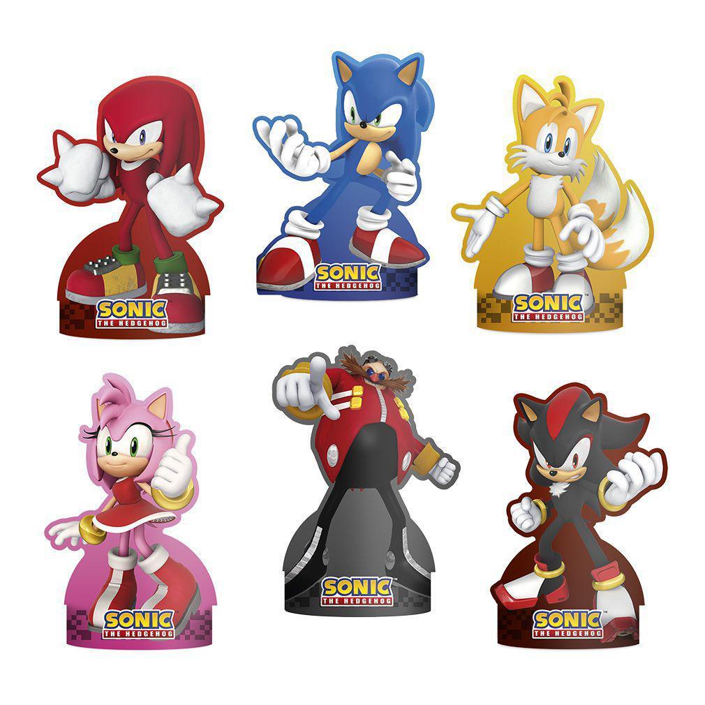Decoração de Mesa Sonic C 06 unid Regina