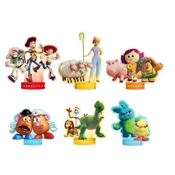 Decoração de Mesa Toy Story C 06 unid Regina