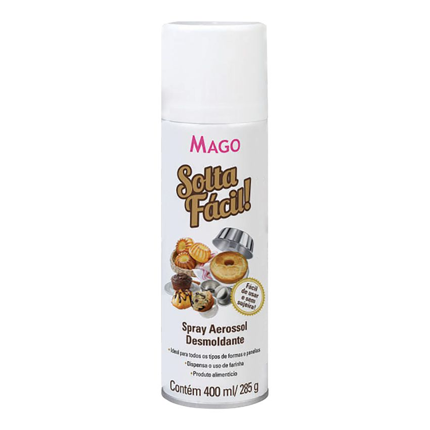 Desmoldante Solta Fácil 400ml Spray Mago