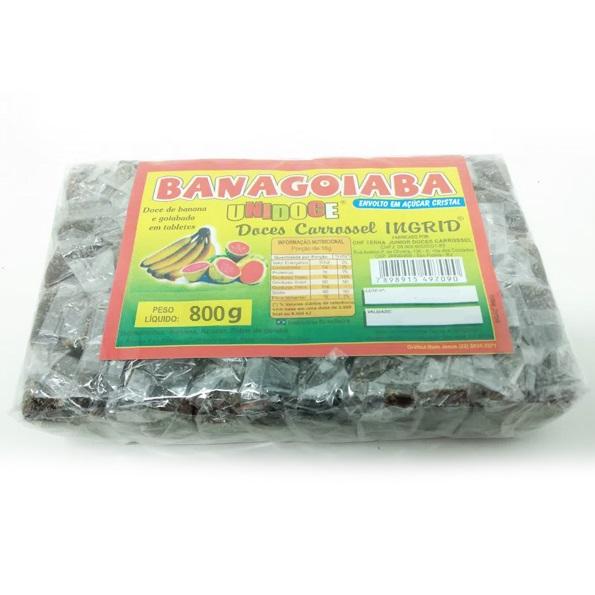 Doce Banagoiaba 800g Unidoce Carrossel