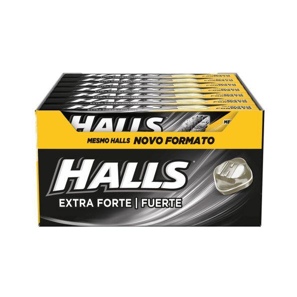 Drops Adams Halls 21 unid Extra Forte