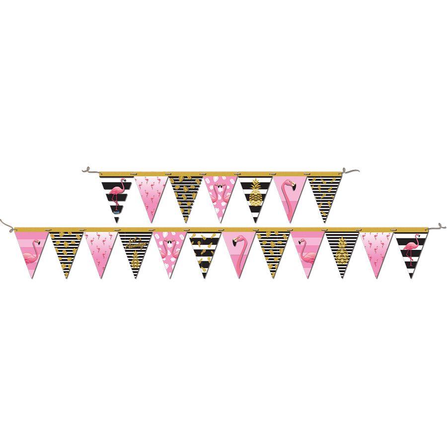 Faixa Decorativa Flamingo Festcolor