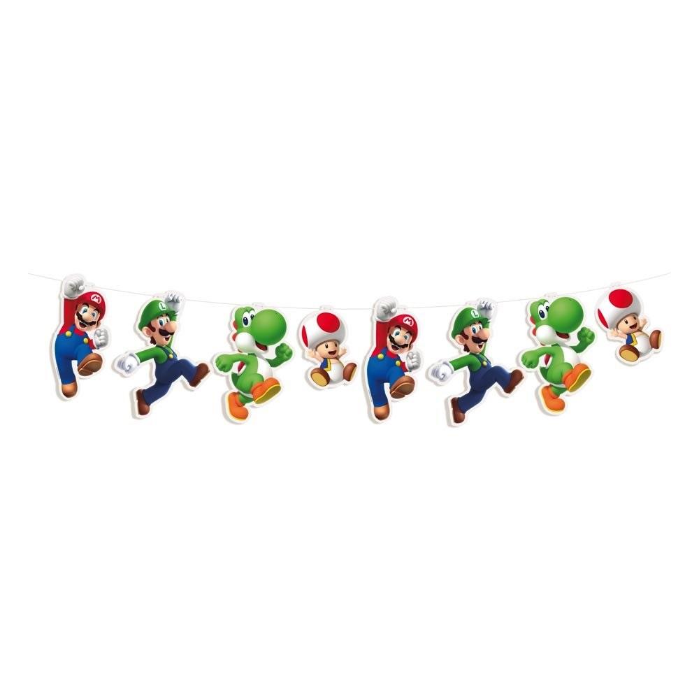 Faixa Decorativa Super Mario Cromus