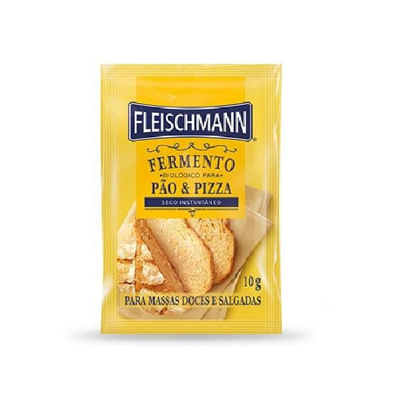 Fermento Biológico Seco Instantâneo 10g Fleischmann