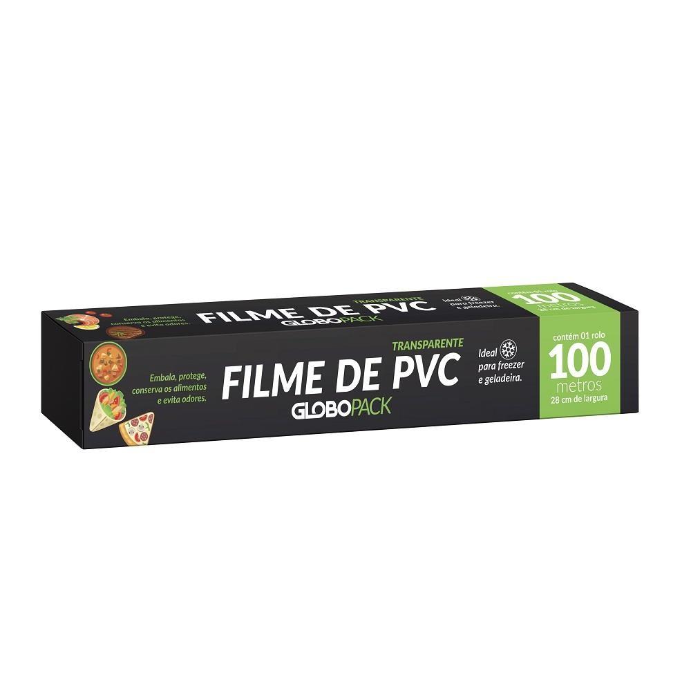 Filme PVC 28cm X 100m GloboPack