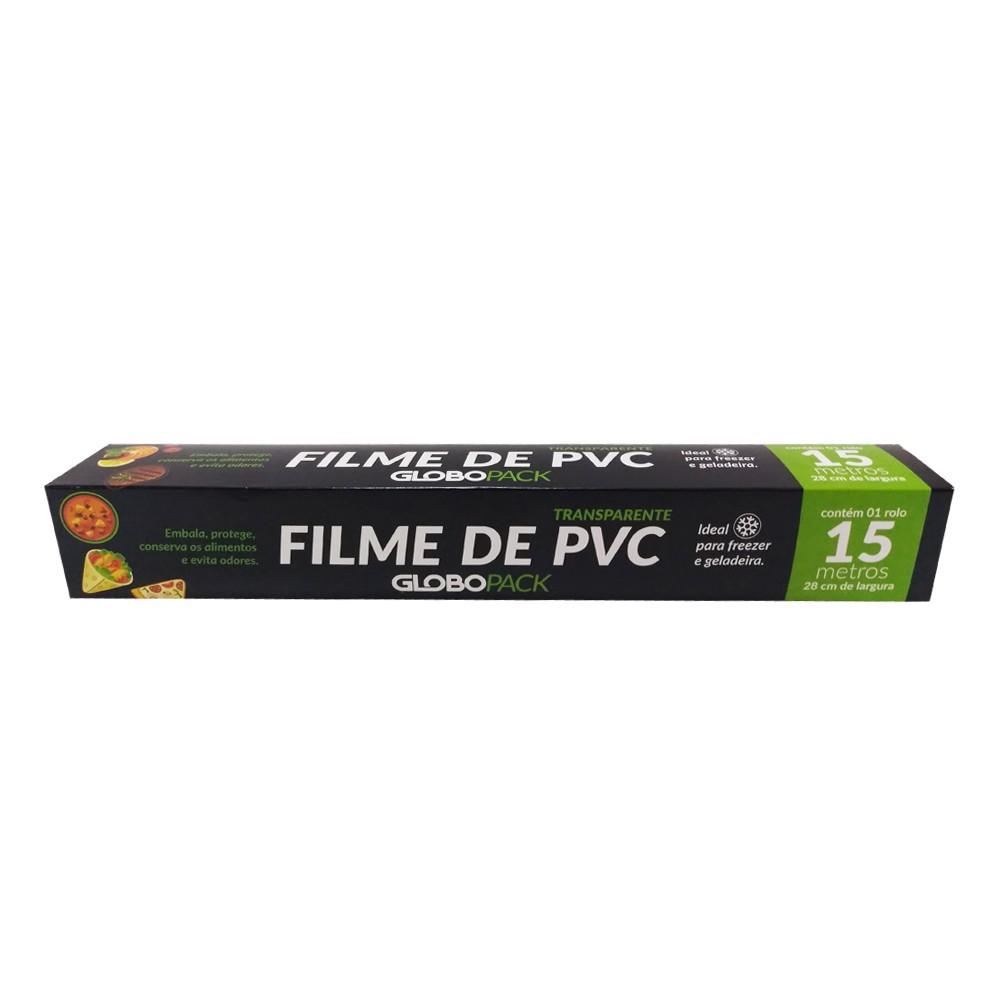 Filme PVC 28cmx15m GloboPack
