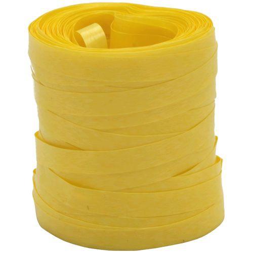 Fitilho Liso Amarelo 5mm x 50m