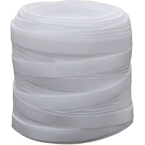 Fitilho Liso Branco 5mm x 50m
