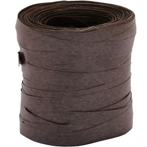 Fitilho Liso Marrom 5mm x 50m