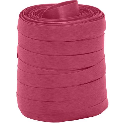 Fitilho Liso Rosa 5mm x 50m