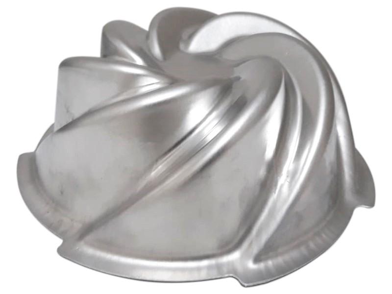 Forma Bolo Vulcão Alumínio Caparroz