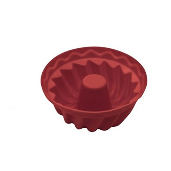 Forma Silicone para 6 Bolinhos 7cm Yazi