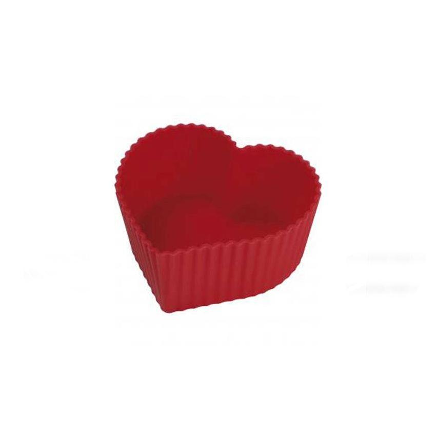 Forma Silicone para 6 Cupcake 7cm Yazi