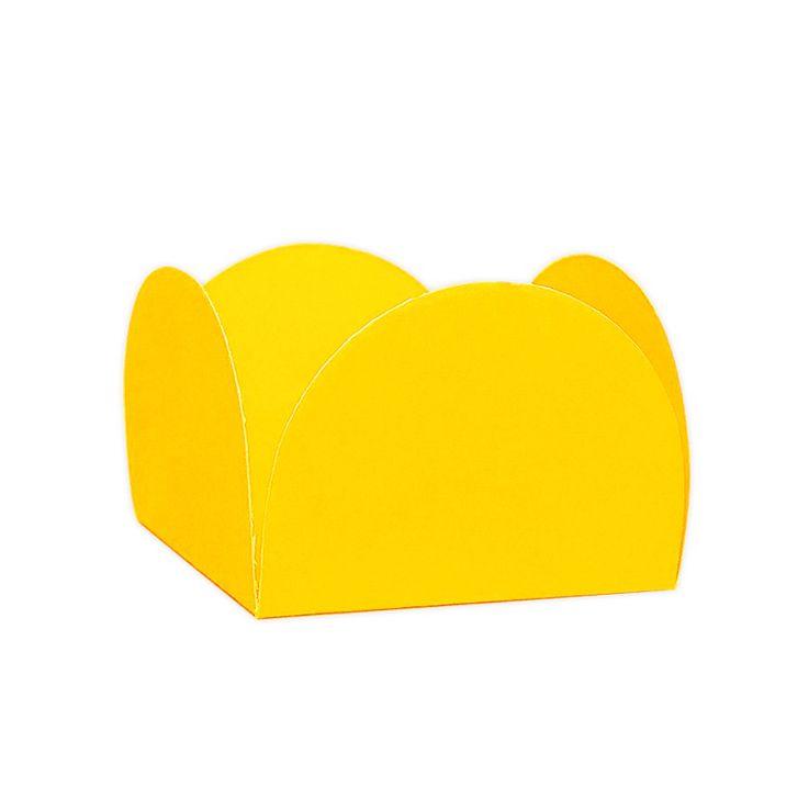 Forminha 4 Pétalas Amarelo c/ 50 NC Toys