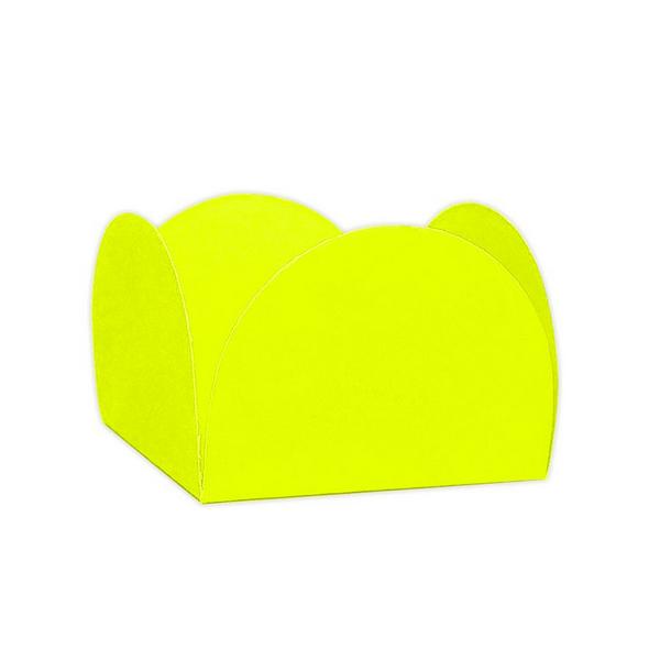 Forminha 4 Pétalas Amarelo Neon c/50 NC Toys