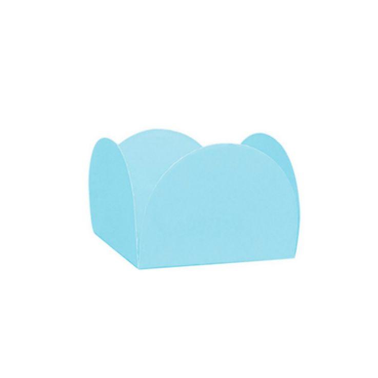 Forminha 4 Pétalas Azul Céu c/50 NC Toys