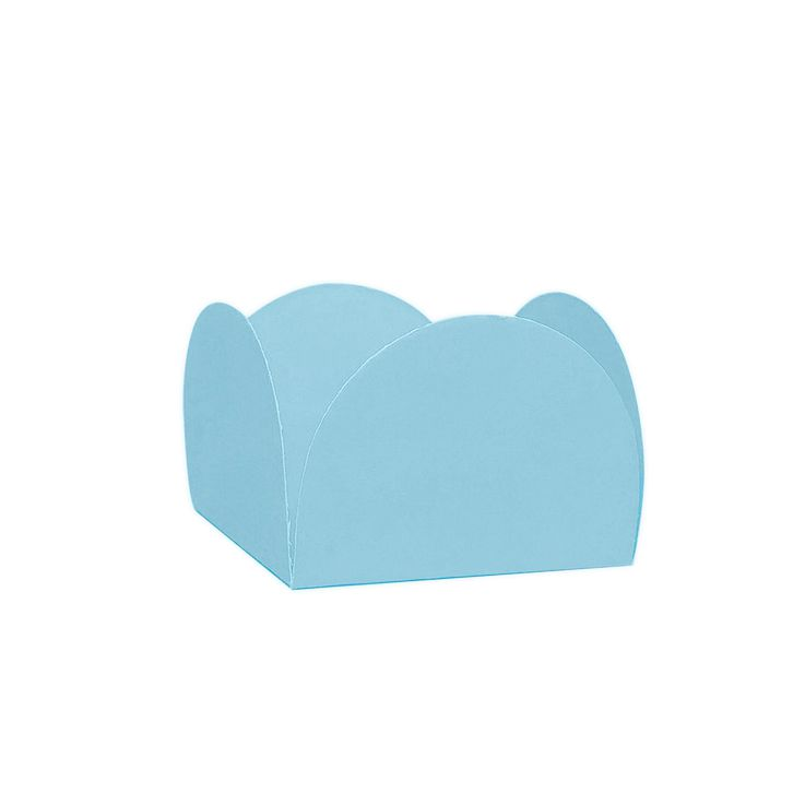Forminha 4 Pétalas Azul Claro c/50 NC Toys