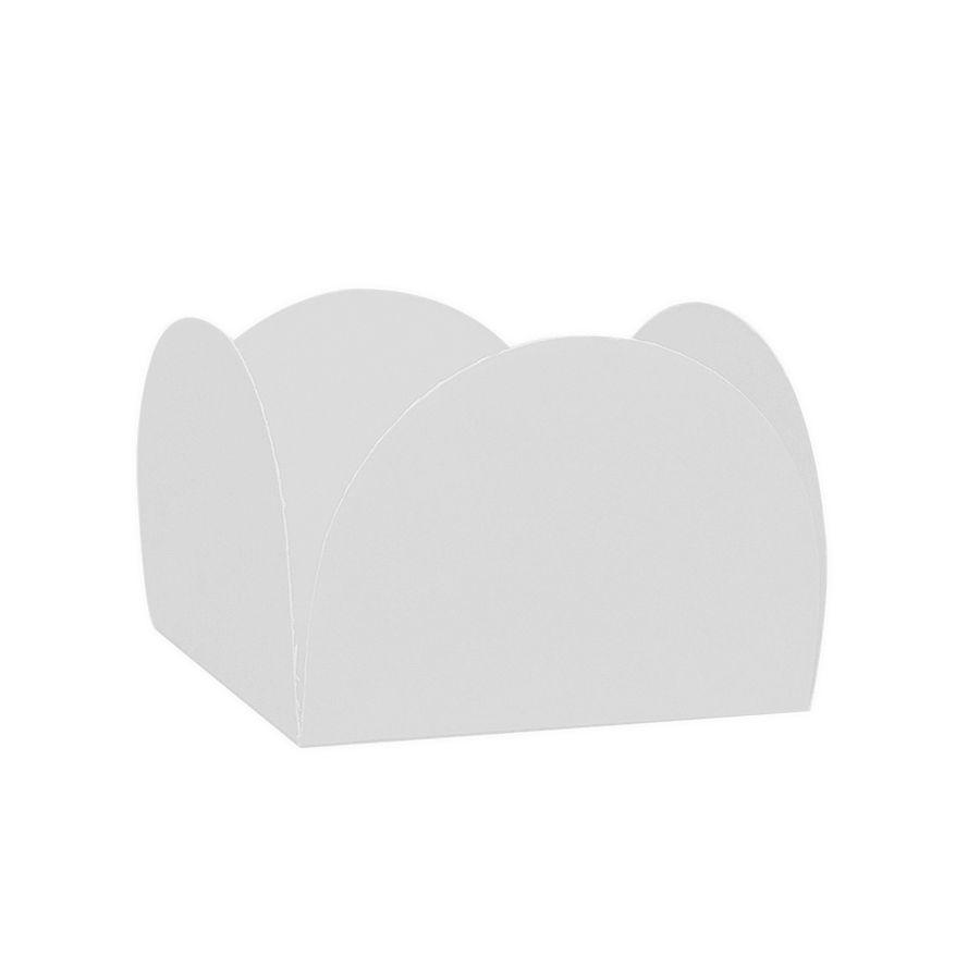 Forminha 4 Pétalas Branco c/50 NC Toys